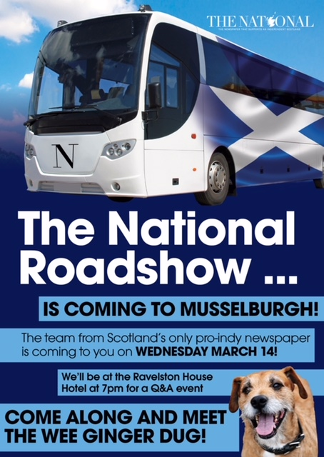 national roadshow poster