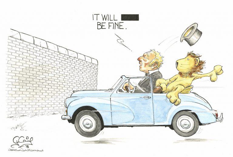 brexit car crash